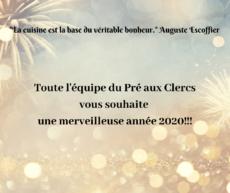(Français) Joyeuse année 2020!!!